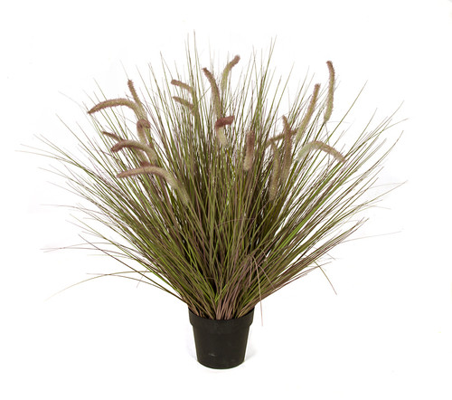 "A-184690 38"" Cattail/Onion Grass Weighted Base"