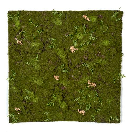 """A-170460 19"""" x 19.25"""" Moss /Fern Sheet"""