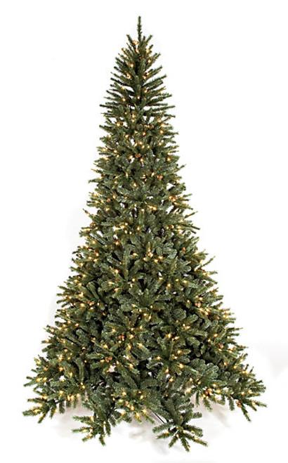 9' Mixed Pine Tree with  Mini Pine Cones