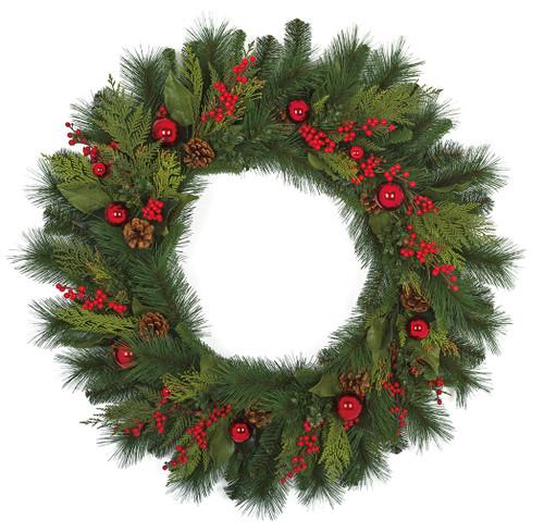 "36"" Hampton Mixed Pine  Wreath"