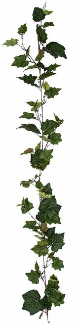 PR-181700 6' Grape Leaf Garland