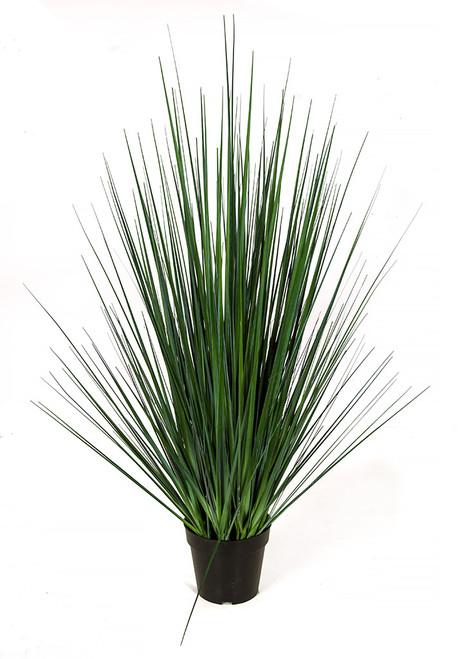 "A-184660 41"" PVC Onion Grass  Grey/Green"