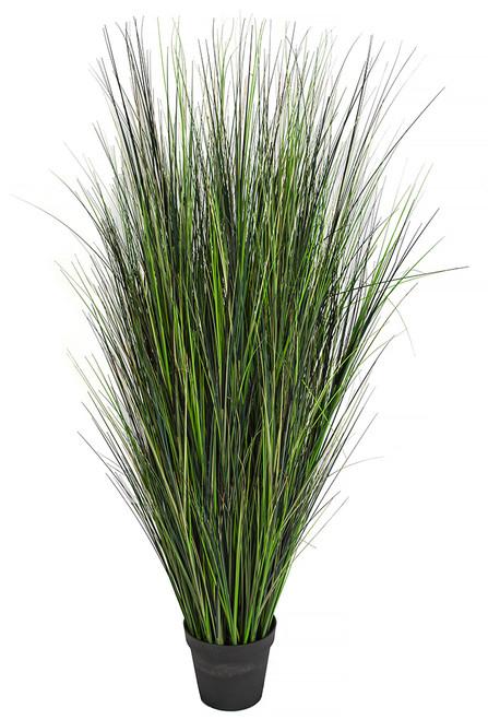 "A-152305 - Mixed Green 60"" PVC Onion Grass"