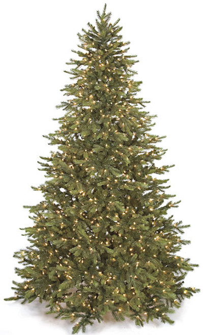 7.5' Always-Lit Mountain Fir Tree