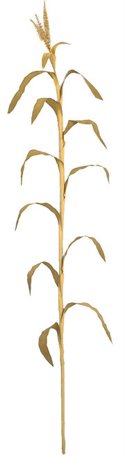 7.5' Dried Look - Fire Retardant Artificial Corn Plant