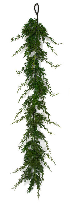 "A-182460 51"" Overall Length Cypress Garland"