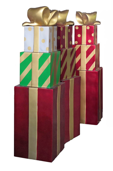 3 Tier Stacked Gift Boxes