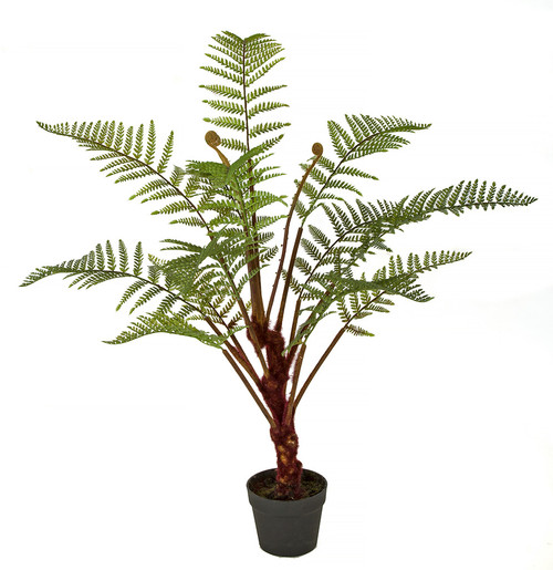 "A-183330 40"" Fern Plant with Pot"