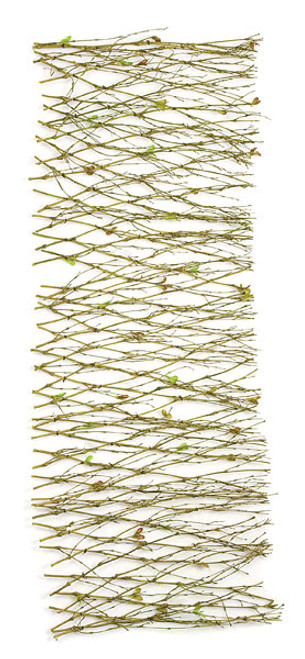 "Natural Twig Mat 36"" L x 12"" W"