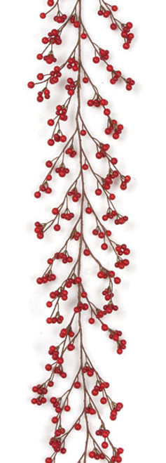 6' Ilex Berry Mixed Garland