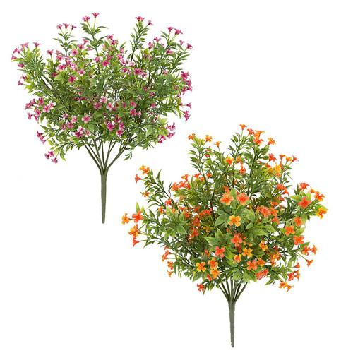 Lavender or Orange Wildflowers
