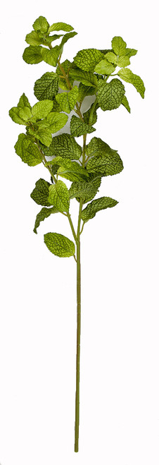 """24"""" Mint Leaf Spray"""
