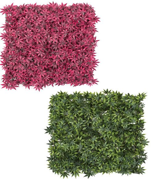 "20"" Sq. x 1.5"" Height Polyblend Maple Mats Tutone Green or Burgundy"