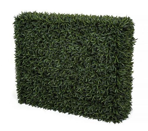 "37"" x 14"" x 30"" Polyblend Outdoor Podocarpus Hedge"