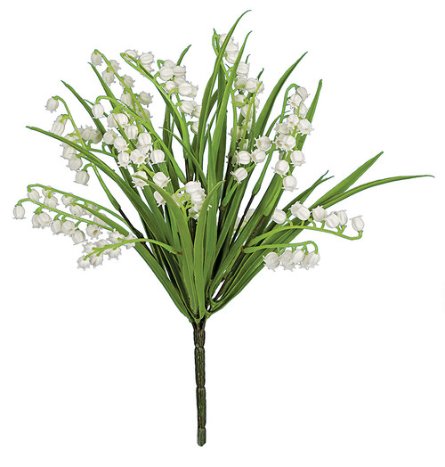 "12"" Lily of the Valley Bush x 7"