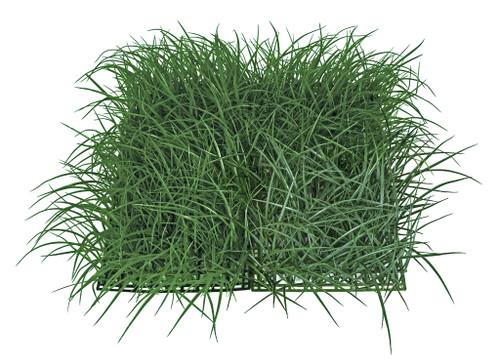 """20"""" x 20"""" x 8""""  Wild Green Grass Mat"""