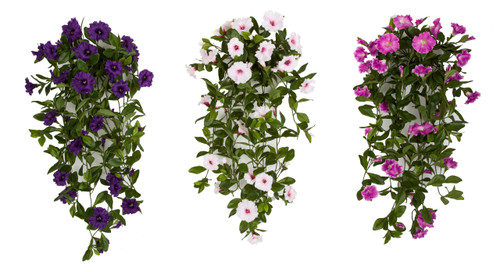 "34"" Petunia Bush - Purple, Pink or Lavender"
