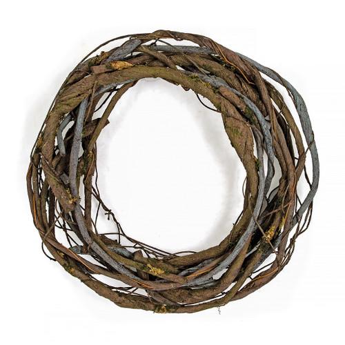 "23"" PE Twig Wreath"