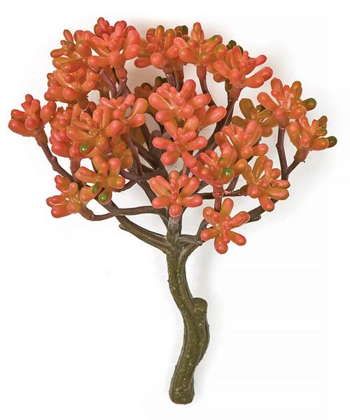 """8"""" L x 5"""" W Coral Echeveria Pick"""
