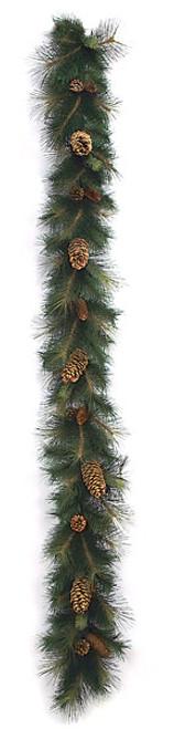 9 Foot Sugar Pine Garland12 Inch Width