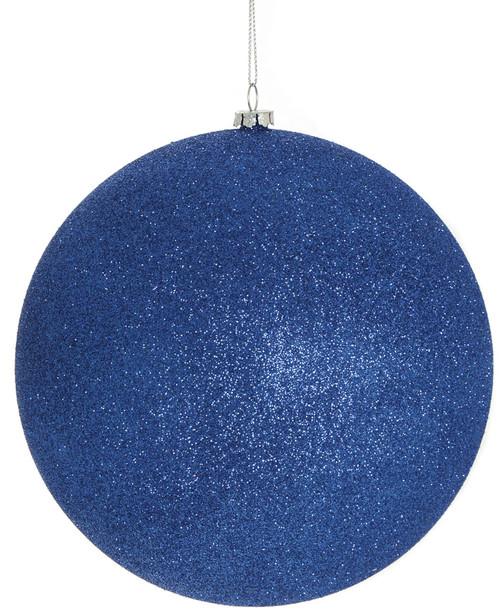 "J-1605256"" Glittered Ball Dark Blue"