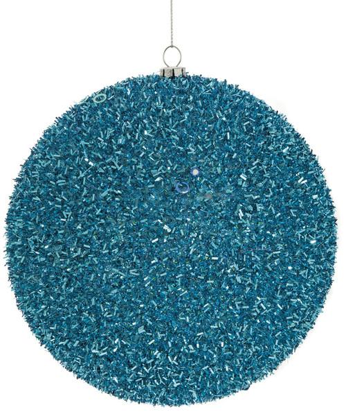 "J-1605156"" Tinsel BallLight Blue"