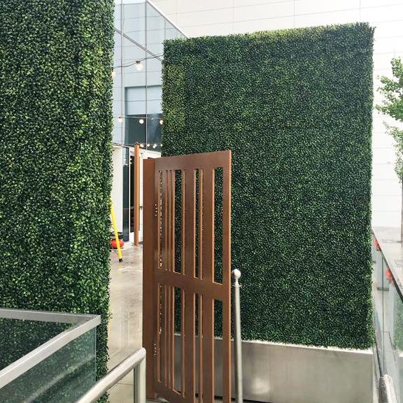 How a boxwood backdrop can work for your business