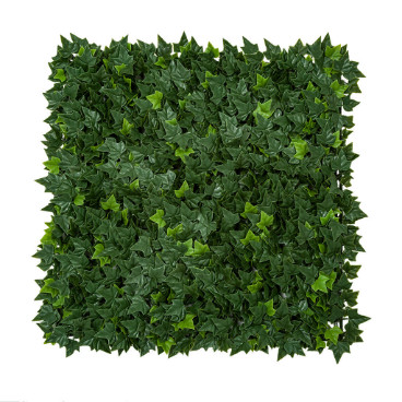 A section of a wall made of little leaves image
