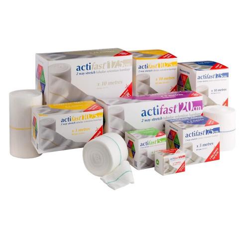 Buy Actifast 2 Way Stretch Tubular Bandage online at Medical dressings Ltd the UK's favorite online medical supplier.