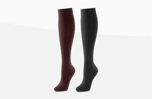 Buy Activa Below Knee Compression Socks (Unisex) Class 1 and Class 2 (14-17mmHg, 18-24mmHg) in Brown and Black. Buy British Standard Activa Compression Hosiery and  Socks at Medical Dressings Ltd the UK's Favourite Medical Online Shop!