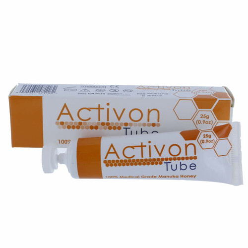 Buy Activon Manuka Honey 25g Tube at Medical Dressings Ltd the UK's Favourite Medical Online Shop!