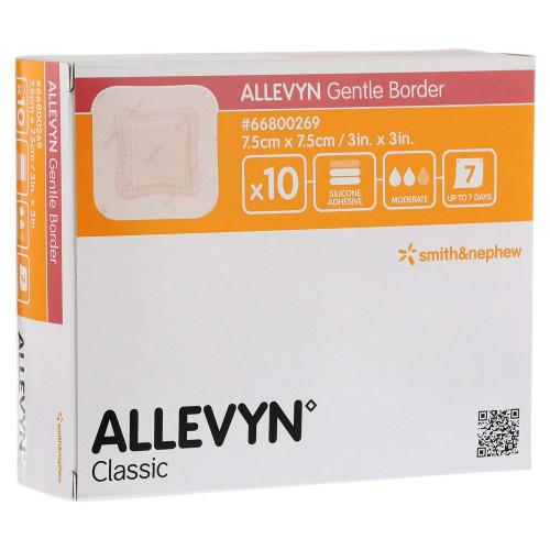 Buy Allevyn Gentle Border  Sensitive Skin Dressing. Buy Online From Medical Dressings the UK's Favourite Online Medical Shop.