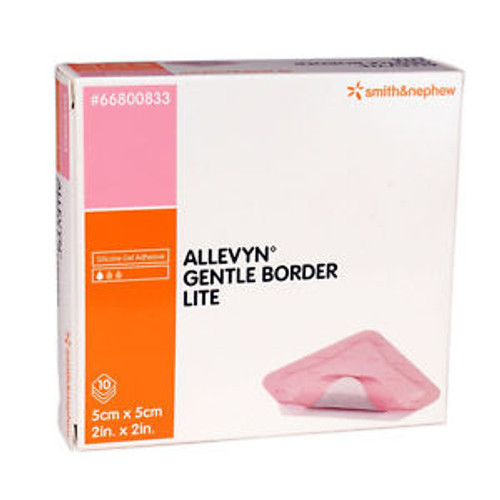 Buy Allevyn Gentle Border Lite  Sensitive Skin Dressing. Buy Online From Medical Dressings the UK's Favourite Online Medical Shop.