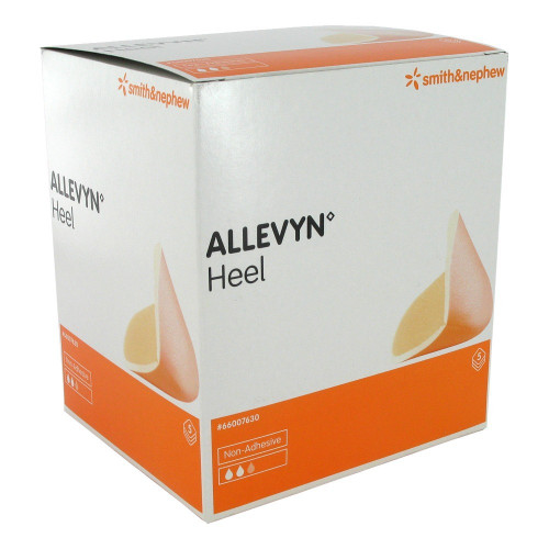 Buy Allevyn Heel Non Adhesive Foam Dressing For The Heel. Dressing For Foot Ulcers, Foot Wounds and Diabetic Foot. Buy Online From Medical Dressings the UK's Favourite Online Medical Shop.