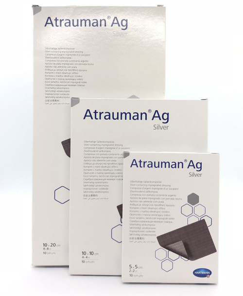 Buy Atrauman Ag Silver Antibacterial Dressing. Buy Online From Medical Dressings the UK's Favourite Online Medical Shop.
