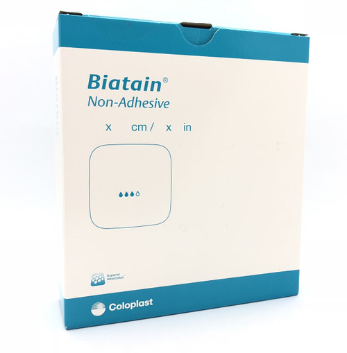 Buy Biatain Non-Adhesive Dressing. For Leg Ulcers, Pressure Ulcers, Diabetic Ulcers, Non-Infected Diabetic Ulcers and Skin Abrasions. Buy Online From Medical Dressings the UK's Favourite Online Medical Shop.