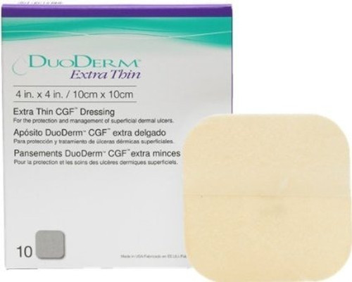 Duoderm Extra Thin Hydrocolloid Dressing
