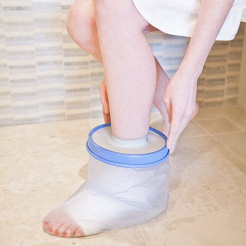 Waterproof Foot And Ankle Cast  Protector