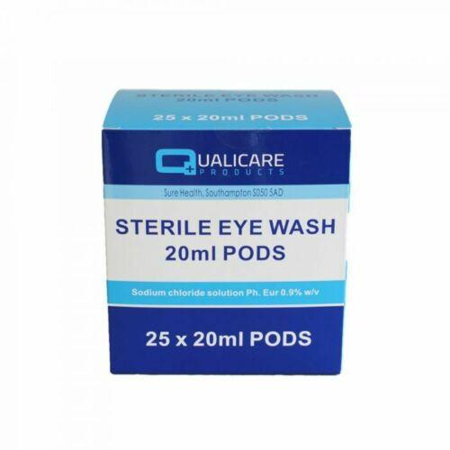 Qualicare Sterile Eye Wash Pods (20ml)