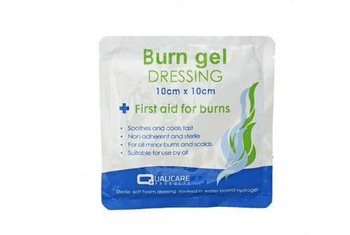 First Aid Burn Gel Dressing (10cm x 10cm)