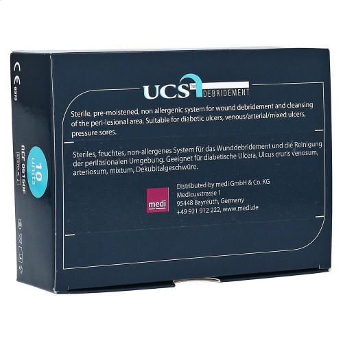 UCS debridement cloth pad