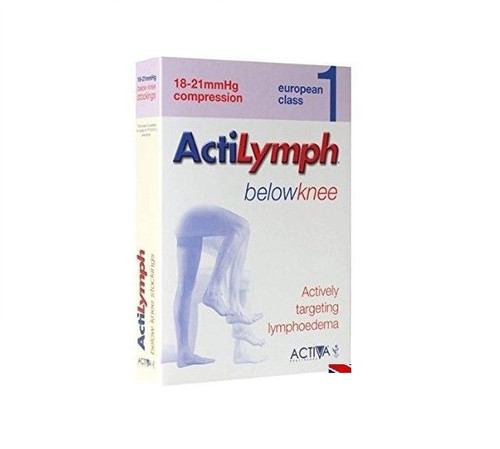 ActiLymph B/Knee Compression Stockings Class 1 18-21mmHg