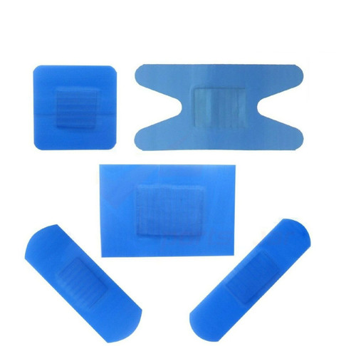 Qualicare Blue Detectable Catering Plasters