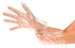 Synthetic, powder-free examination glove ideal for frequent glove changes