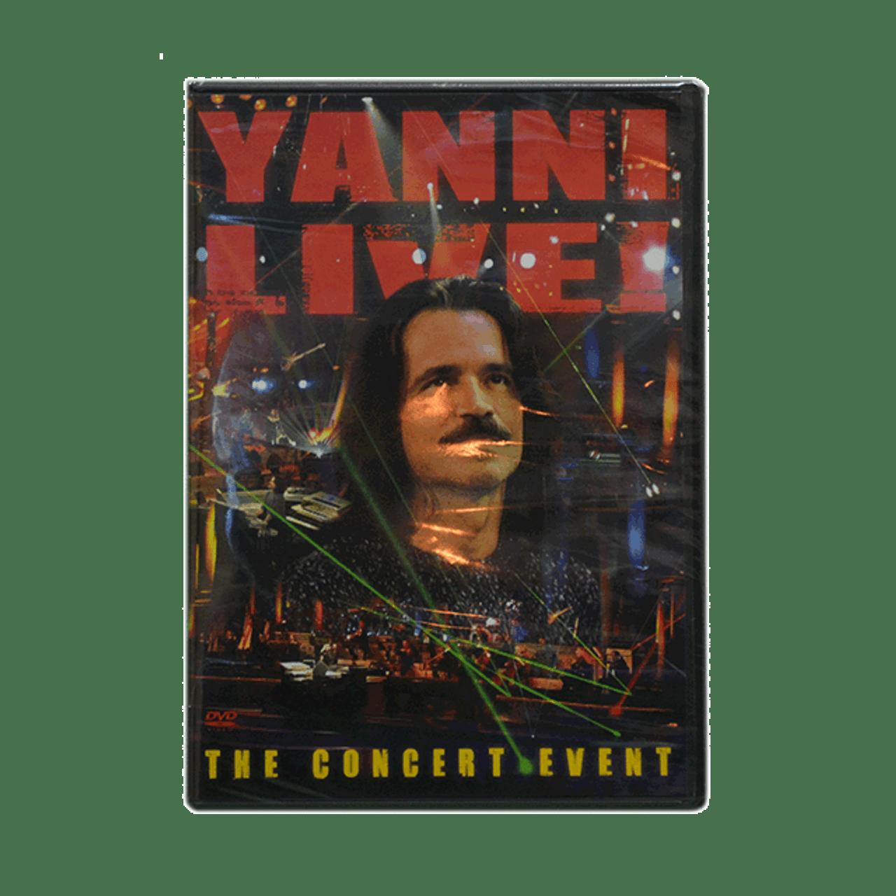Yanni Live (The Concert Event) DVD