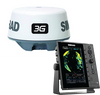 """Simrad R2009 3G™ kit is a dedicated 9"""" portrait Radar Control Unit and 3G Broadband Radar. The kit includes R2009 radar control unit, 3G Broadband Radar, RI-10 interface, Interconnection cable 20m (66 ft), 1.8 m (6 ft) Ethernet cable. 000-12192-001"""