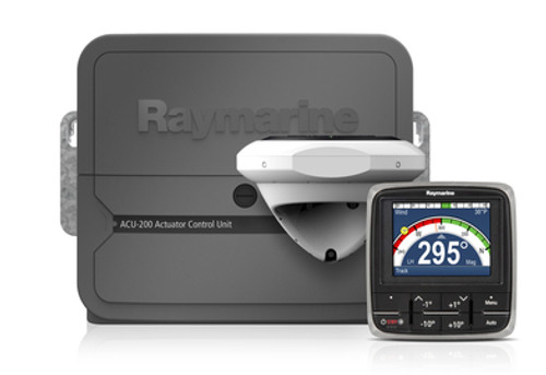 Raymarine Instrument Transducer Options, Raymarine - Shotgun
