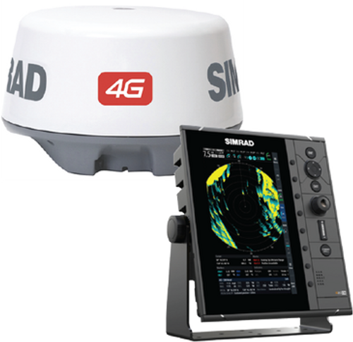 "Simrad R2009 4G™ kit is a specific 9"" portrait Radar Control Unit and 4G Broadband Radar. The kit includes R2009 radar control unit, 4G Broadband Radar, RI-10 interface, Interconnection cable 20m (66 ft), 1.8 m (6 ft) Ethernet cable."