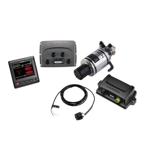 Compact Reactor 40 can be operated using the included GHC 20 helm control unit.