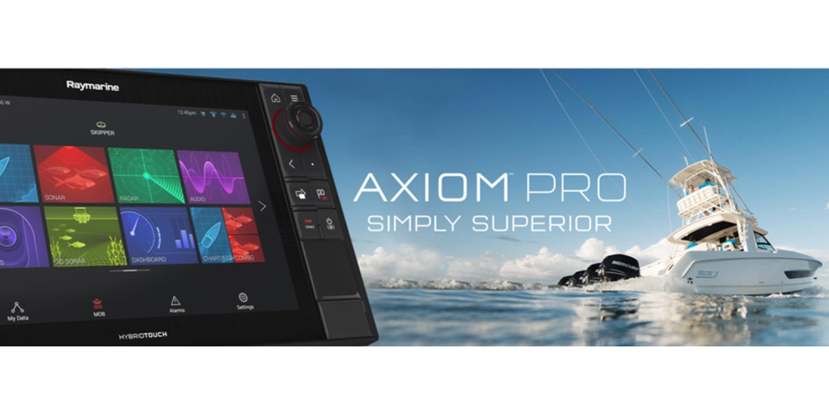 Check out our Raymarine Axiom Pro 12 Simply Superior